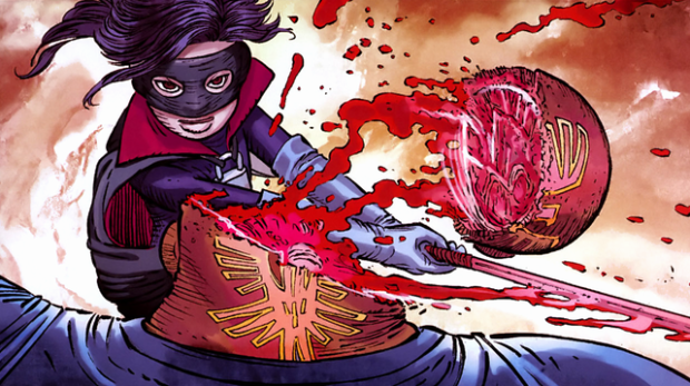 Hit Girl by John Romita Jr