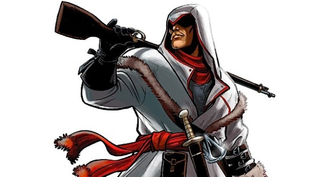 o Assassino Nikolai Orelov. personagem principal de Assassin's Creed: The Fall