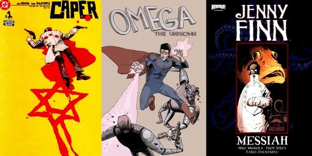 """Caper"", ""Omega: The Unknown"" & 'Jenny Finn'"