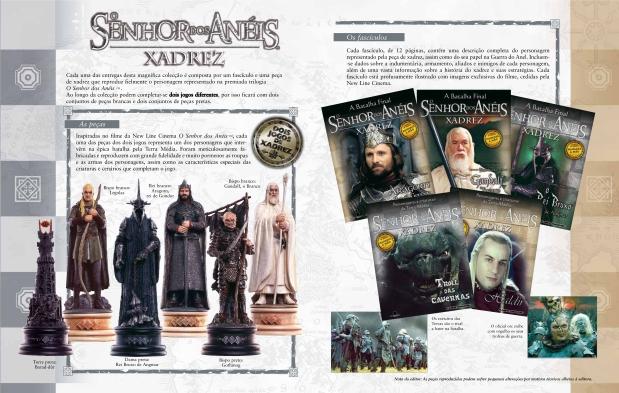 Lord of the Rings Xadrez - Altaya 01