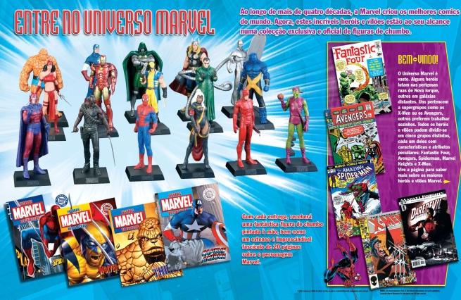 Coleção Marvel Comics da editora Altaya