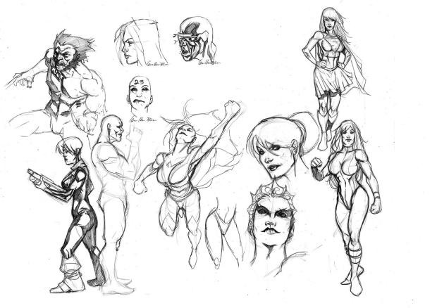 Sketchs: 2 horas diárias de treino em busca do aprimoramento