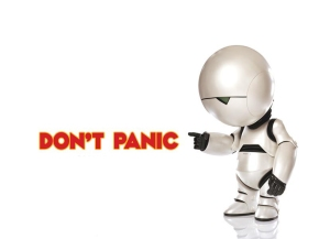 The Hitchhiker's Guide to the Galaxy - Marvin