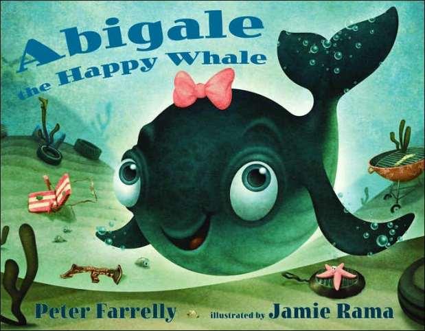 Abigale: The Happy Whale, primeiro trabalho de Jamie em um livro infantil