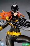 DC Comics Batgirl Black Costume Bishoujo Statue 05