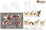 New Thudercats Model Sheets - Snarf