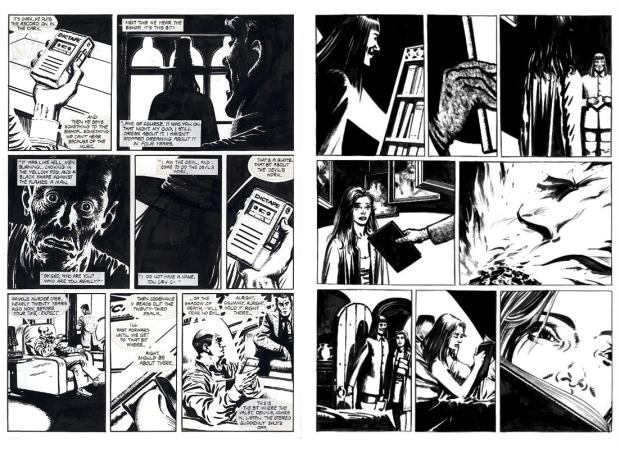 V de Vingança: A arte de Lioyd e os textos de Moore, criaram uma obra que transcende o universo das HQs