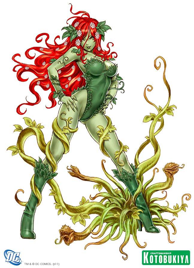 Marvel e dc bishoujo 187 dc comics poison ivy bishoujo statue art