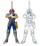 Thundercats 2011 - Lion-o and Sword