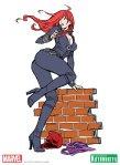 Bishoujo Illustrations Black Widow by Shunya Yamashita