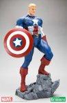 Marvel Captain America Classic Avengers Fine Art Statue 03