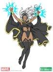 Marvel Comics Storm Bishoujo Concept Art by Shunya Yamashita