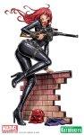 Marvel Comics Black Widow Covert Ops Bishoujo Statue Final Art