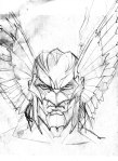 The Savage Hawkman - Concept Art 04