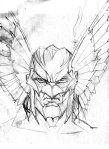 The Savage Hawkman - Concept Art 04
