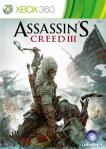Assassin's Creed 3 - Game Cover Art - X-Box 360