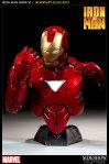 Iron Man Mark VI Legendary Scale ™ Bust - HD Image 01