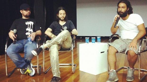 Power Trio: Rod Reis, Renato Guedes e Rafael Coutinho