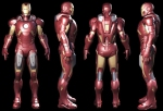 The Avengers - Iron Man Mark VII Collectible Figure Concept Art