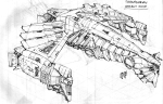 The Savage Hawknam #12 - Thanagarian Assaut Ship