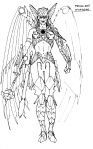 The Savage Hawknam #12 - Thanagarian Princess 01