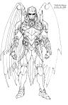 The Savage Hawknam #12 - Thanagarian Soldier 01