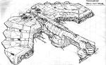 The Savage Hawknam #12 - Thanagarian Space Destroyer