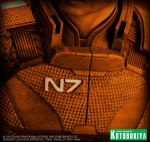Mass Effect 3 Commander Shepard Preview