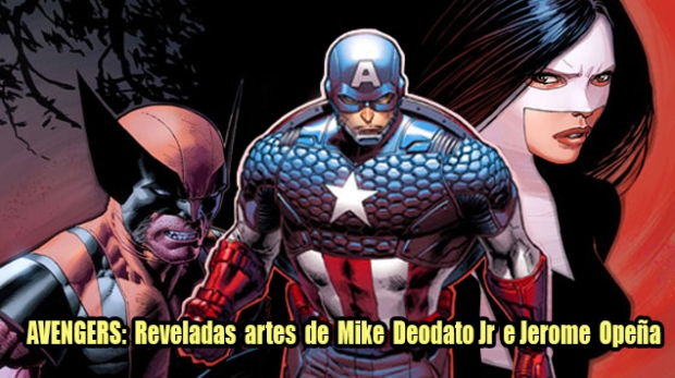 Blog Image Gallery Teaser - Mike Deodato Jr e Jerome Opeña