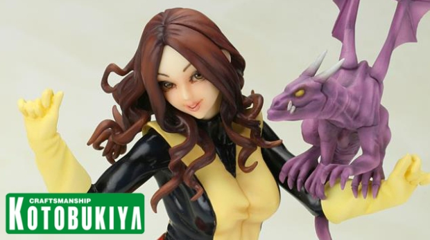 Teaser - Marvel Comics Kitty Pryde Bishoujo Statue 02