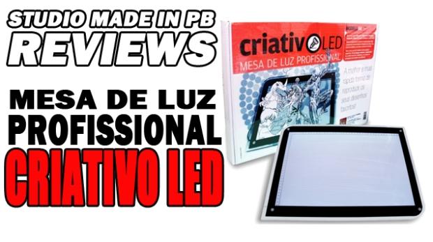 Teaser - Mesa de Luz Profissional Criativo LED