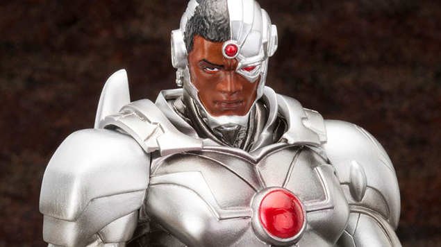 DC Comics Justice League Cyborg New 52 Teaser