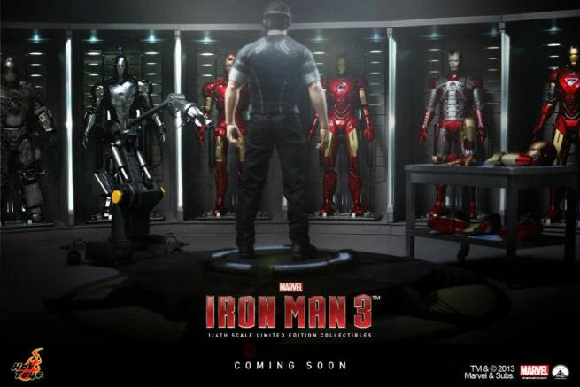 Iron Man 3 - Tony Stark Limited Edition Collectible Figurine