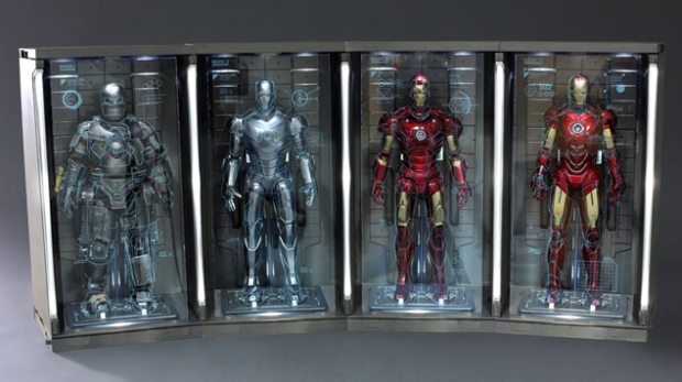 Teaser Iron Man 2 Box Armor