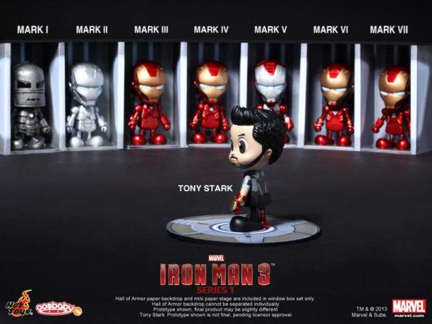 Iron Man 3 - Cosbaby (S) (Series 1) 01