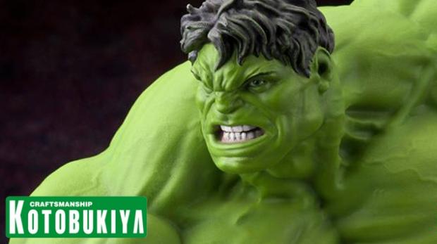 Horizontal Teaser - Hulk Fine Art Statue