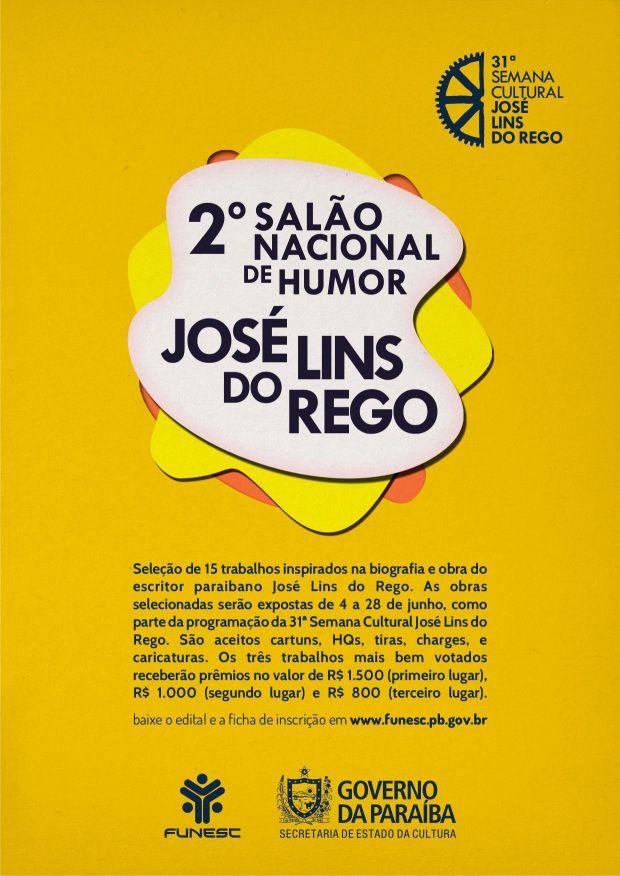2º Salão Nacional de Humor José Lins do Rego