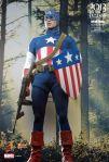 Captain America -  1-6th scale Captain America (Star Spangled 08