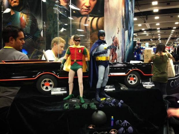 SDCC - Batman 60's TV Serie  - Batman and Robin