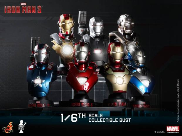 1-6th scale Collectible Bust Series