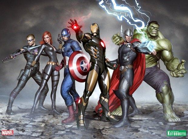 ARTFX+ Avengers by Adi Granov