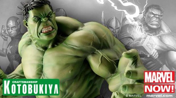 Horizontal Teaser Kotobukiya Avengers - Hulk 01