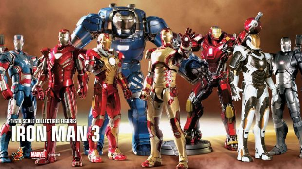 Hot Toys Iron Man 3 Collection