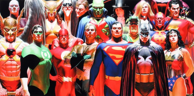 Justice Heroes by Alex Ross