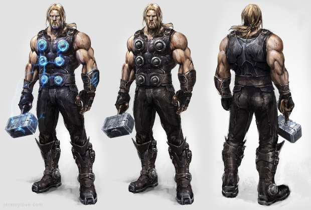 THQ - Avengers Concept Arts 06