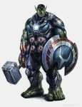 THQ - Avengers Concept Arts 12