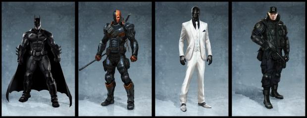 Concept Arts para o game Batman: Arkham Origins