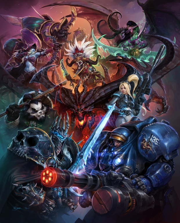 Blizzard All-Stars™ - Heroes of the Storm - Poster