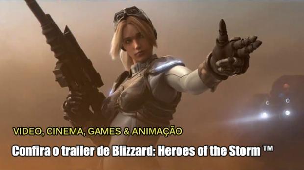 TEASER - Blizzard - Heroes of the Storm ™ 01