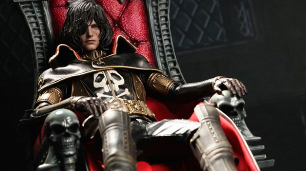 TEASER - Hot Toys Caotain Harlock